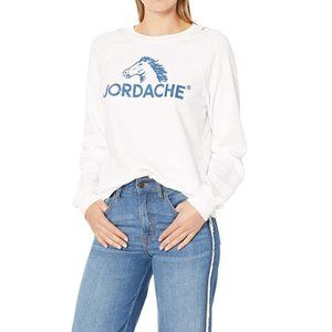 JORDACHE Heritage Madison White Distressed Shirt